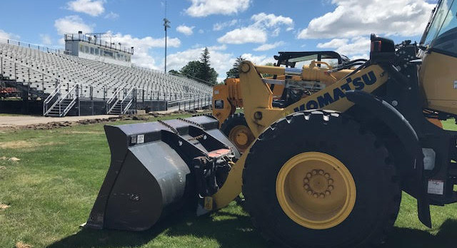 Prep Work is Underway on Community Stadium Project