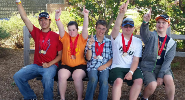 Five GLHS Comets Place at Special Olympics Summer Games