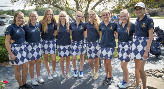JV Girls Golf Places 2nd at Grand Ledge JV Invitational