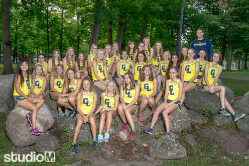 Girls XC Team Picture
