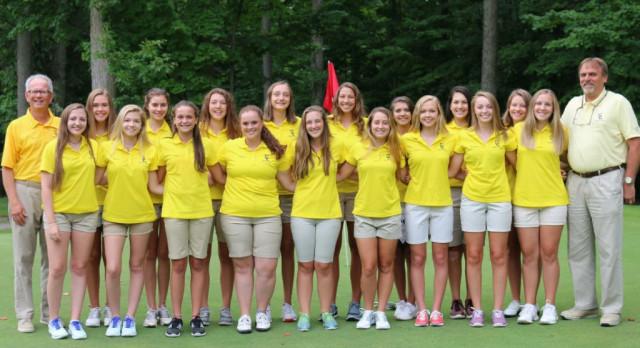 Girls Golf Places 2nd at CAAC Okemos Jamboree