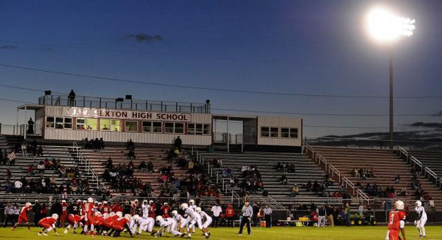 Sexton High School Football Stadium Limited Bag Policy