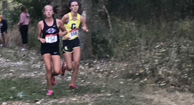 Girls Cross Country Takes 2nd at CAAC Blue Jamboree