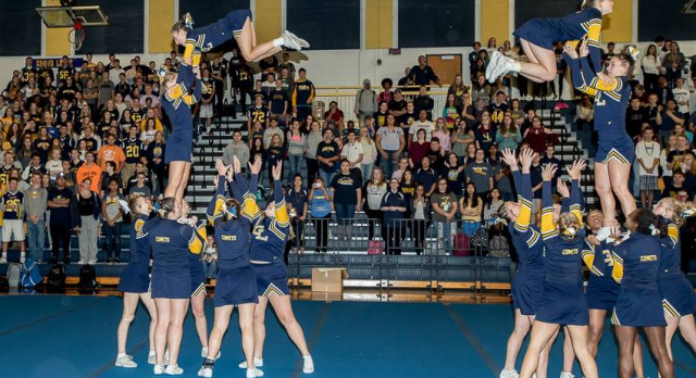 Competitive Cheer Tryouts Scheduled Begin Nov. 6th; Parent Meeting Nov. 1st
