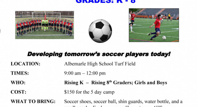 PATRIOT SOCCER CAMP