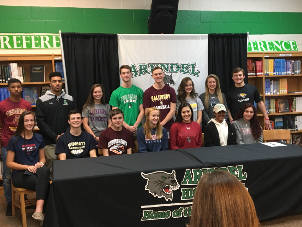 Signing Day Fall 2017