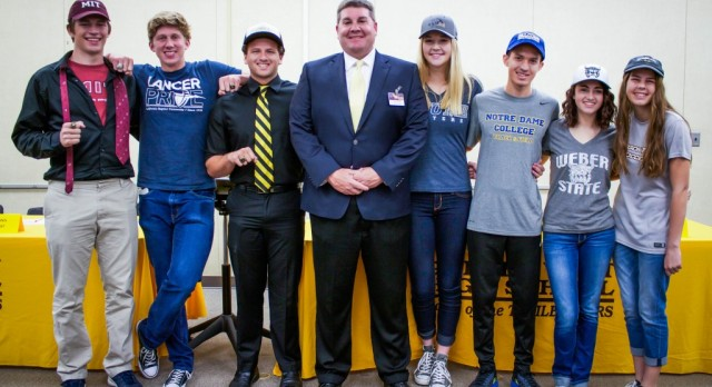 Signing Day: Seven GWHS Athletes Sign To Play Sports in College