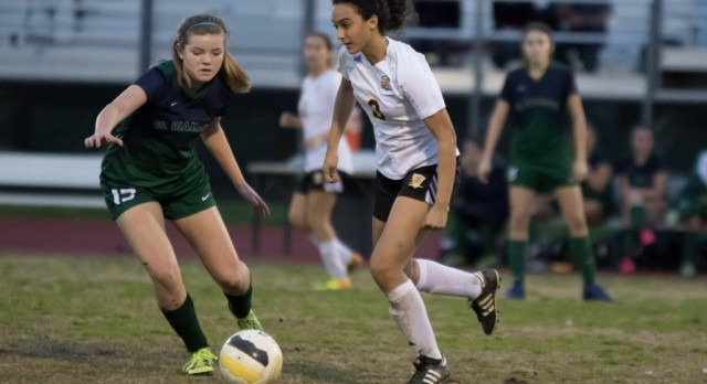 GW Girls Soccer Captures First Round Playoff Win