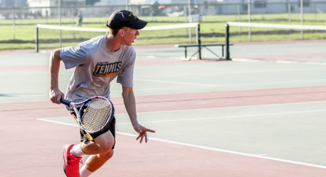 GWHS Boys Tennis Handles Hanford West