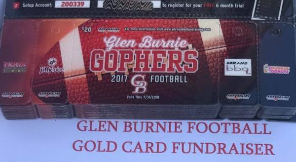 Glen Burnie Football Cards