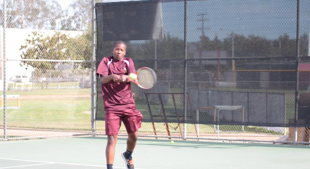 Valley Christian High School Boys Varsity Tennis beat Village Christian High School 14-4