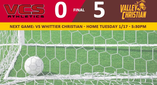 Valley Christian/Cerritos Girls Varsity Soccer beat Village Christian High School 5-0