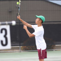 Boys Tennis vs Whittier Christian 4/18/17
