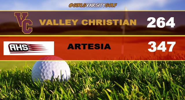Girls Varsity Golf Defeats Artesia