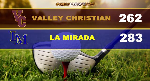 Girls Varsity Golf Defeats La Mirada