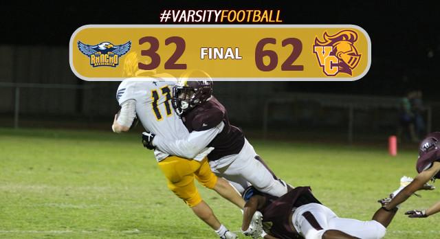 Varsity Football Defeats Rancho Christian