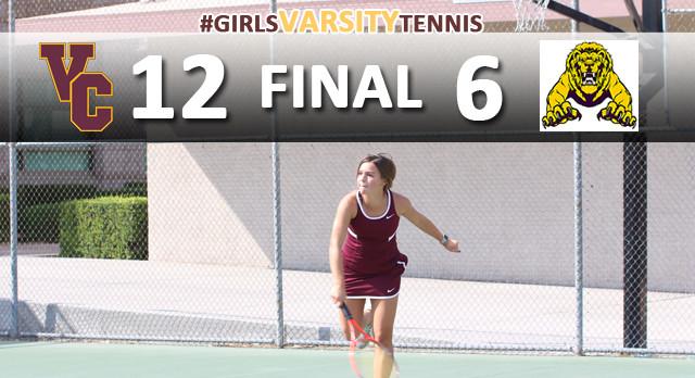 Girls Tennis Defeats Tarbut V'Torah