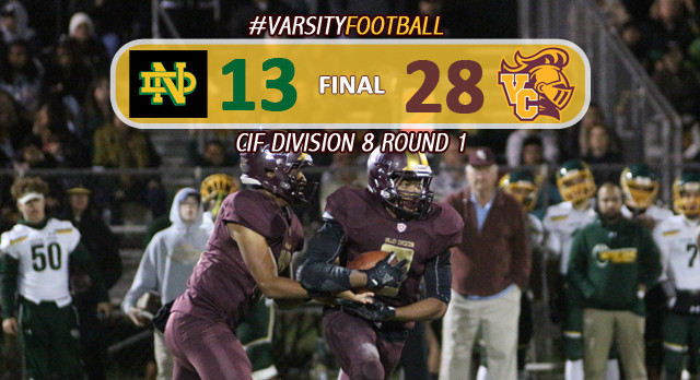 Football Defeats Notre Dame In CIF Opening Round