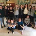Girls Basketball Team bonding brunch