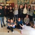 Girls Basketball Team bonding brunch