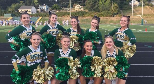 OSU invites Cheer Team to football halftime performance!