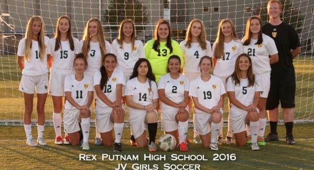 2016 JV Girls Soccer