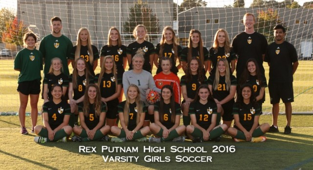 2016 Girls Varsity Soccer Team