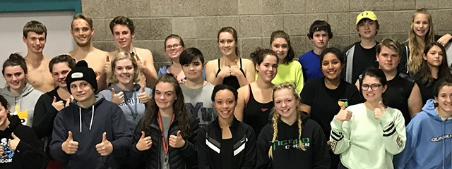 Congratulations Lady Kingsmen Swimmers!