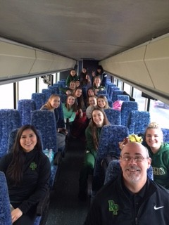 Girls Basketball off to Pendleton!!!!