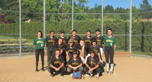 Softball takes league championship!!