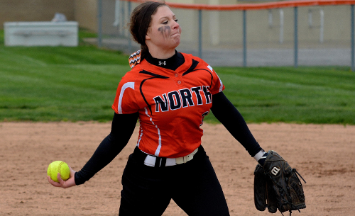 Unlikely hero emerges in North's doubleheader sweep