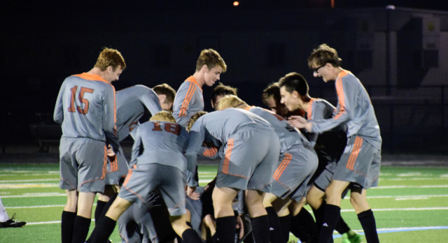 Last second goal leads North past South
