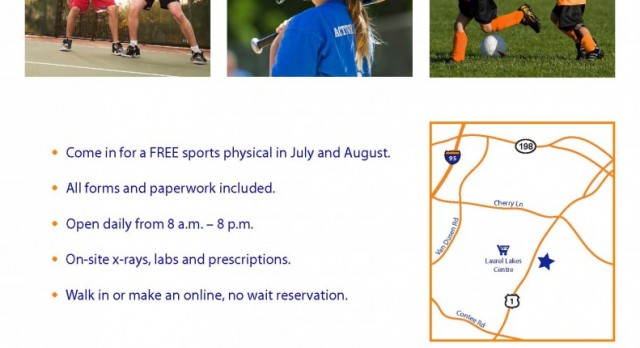 Free Sport Physicals