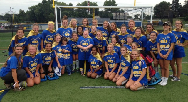 Field Hockey GO GOLD and STICK IT to Childhood Cancer!
