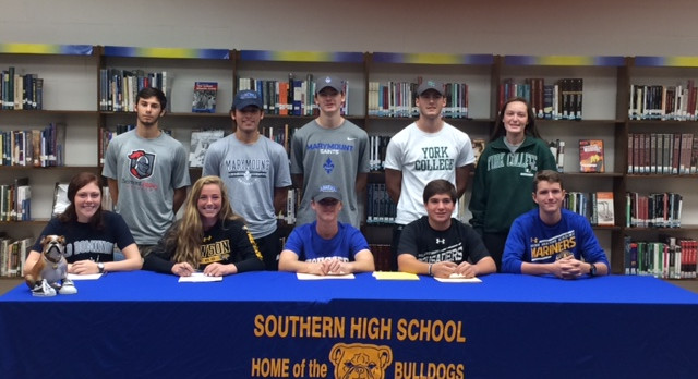 Signing Day for Southern Athletes!