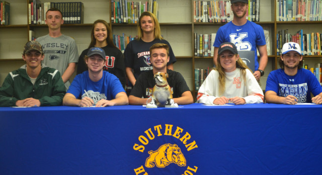 Signing Day for Southern Athletes
