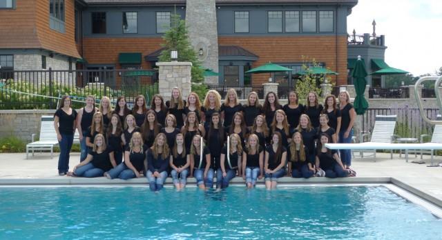 Girls Swim 2014
