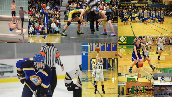 Winter sports collage 2014-15