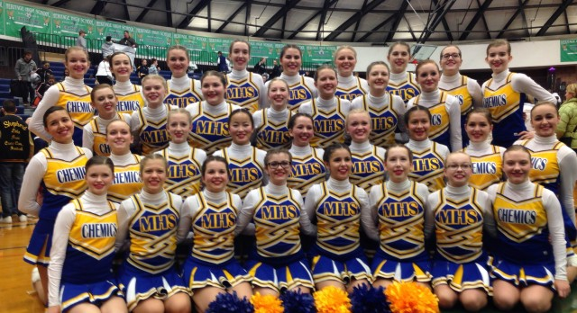 Pom Qualifies for State Competition