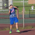 Boys varsity tennis vs Heritage 9-17-15