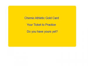 Gold Card athletics