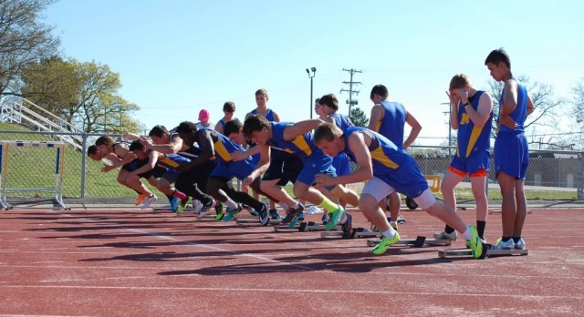 Boys Track 2016 sign up information