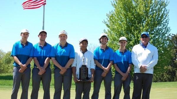 Boys Golf SVL Champs 2016