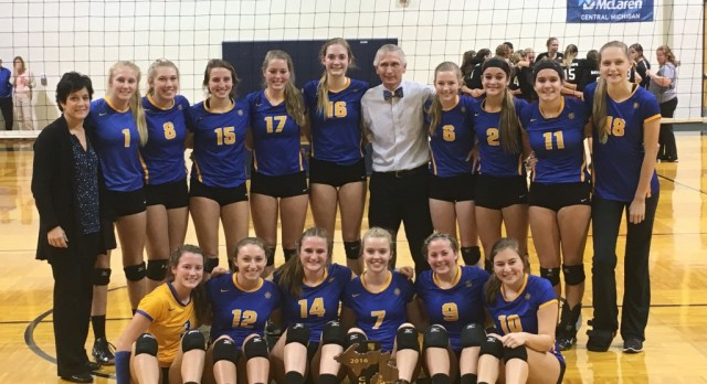 Volleyball wins Regional Championship