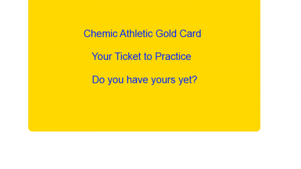 Gold Card athletics