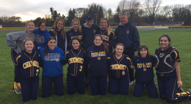 2017 Chemic JV Softball