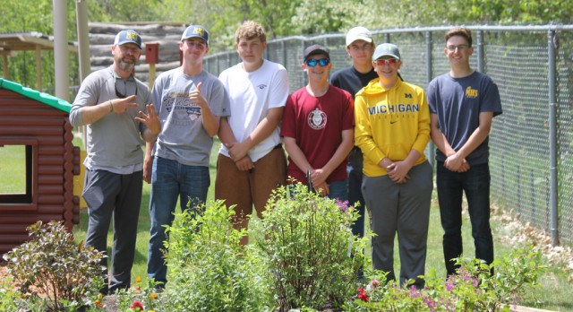 Boys Golf Service Project