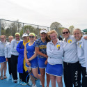 Varsity Girls Tennis at Flushing