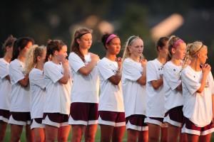 Broadneck HS V Girls Soccer 9-10-16