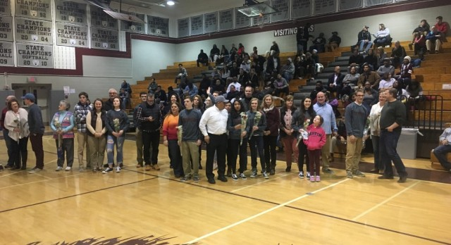 Ceremonies held to honor senior Bruin athletes
